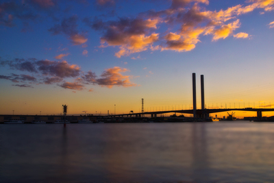 Bolte Bridge Sunset from Docklands