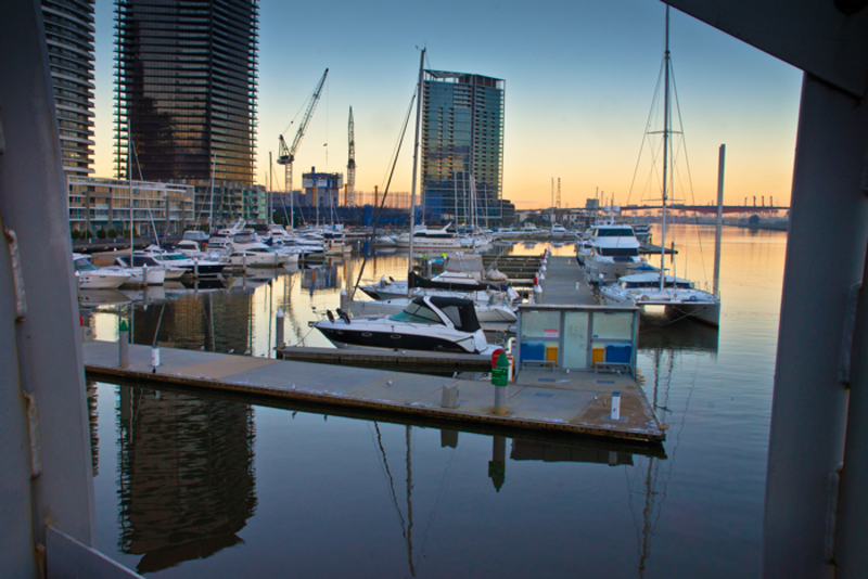 Three Buildings Reflected in the River  - How to photograph the city #1