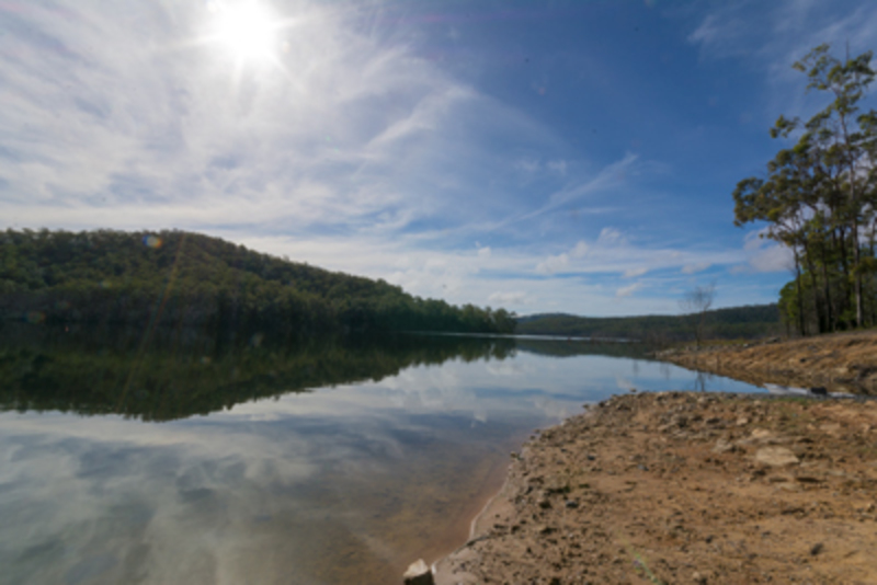 hinze dam