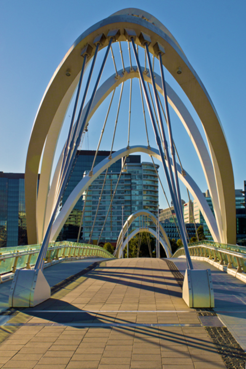 Seafarers Bridge Distorted Perspective