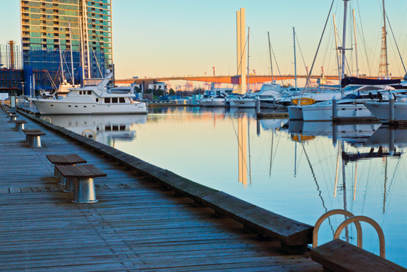 South Wharf Harbour  - How to photograph the city #1