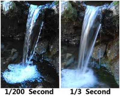 Waterfalls Captured at Different Shutter Speeds